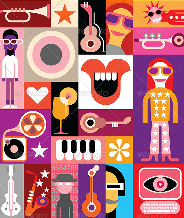 GraphicRiver Party Illustration 7791927