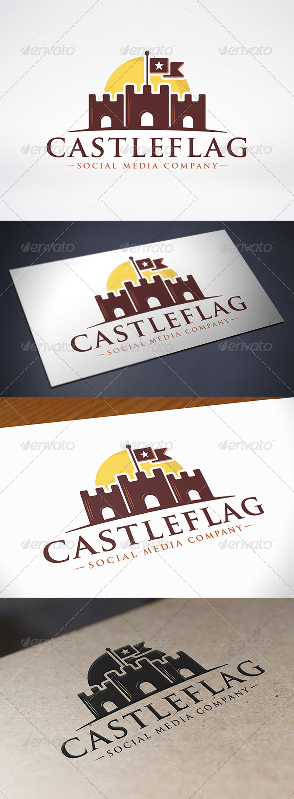 GraphicRiver Castle Logo 7794667