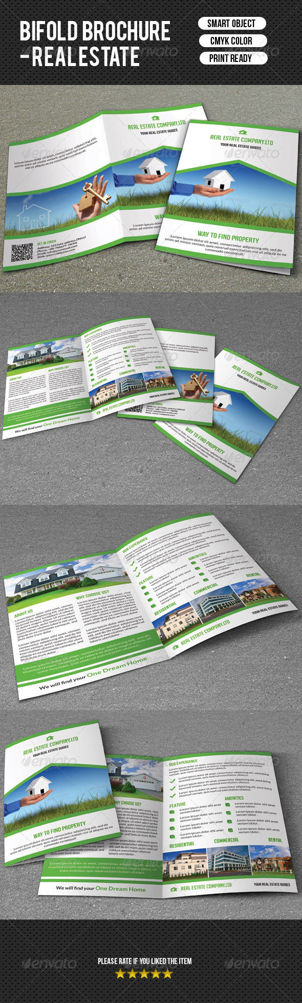 GraphicRiver Real Estate Brochure-V14 7794848