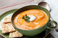 Pumpkin Soup with Crackers - PhotoDune Item for Sale
