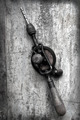 Vintage Hand Drill with Grunge Effects - PhotoDune Item for Sale