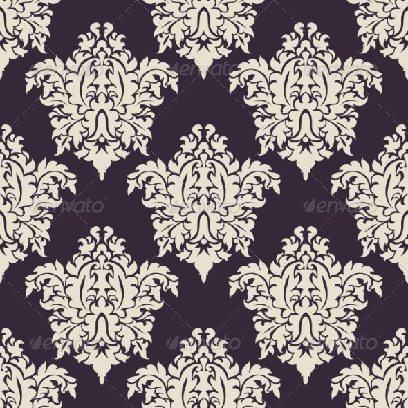 GraphicRiver Vintage Floral Seamless 7795458