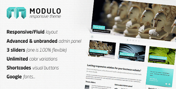 Modulo - Responsive premium theme - Preview