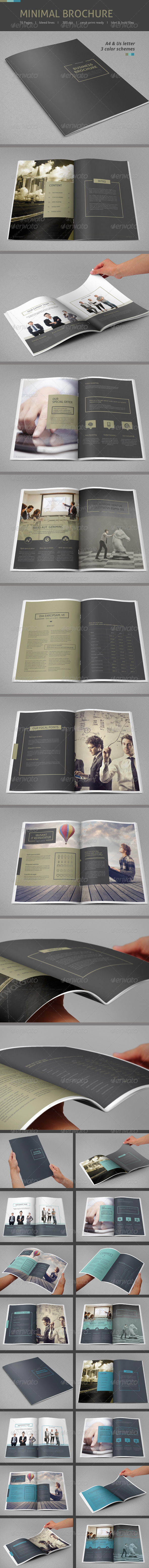 GraphicRiver Minimal Business Brochure 7783111