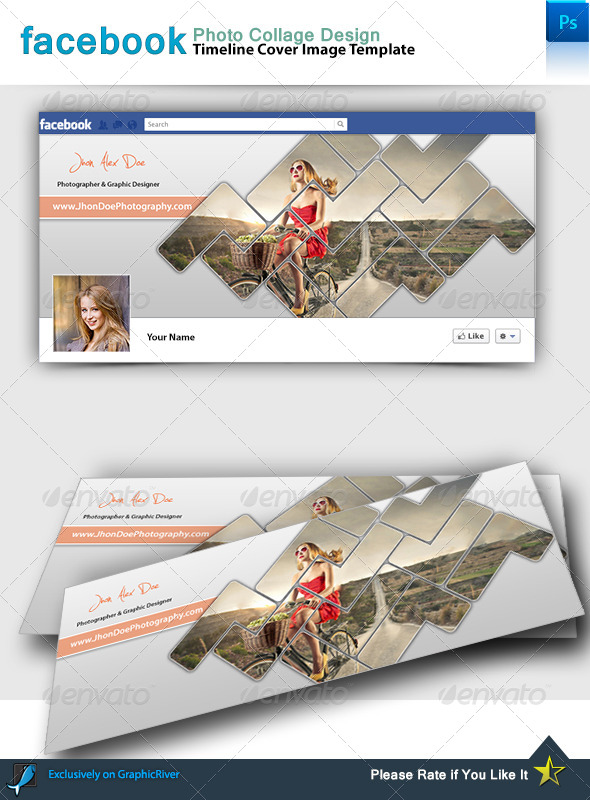GraphicRiver Facebook Photo Collage 7799139