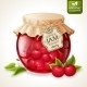 Cherry Jam Jar - GraphicRiver Item for Sale