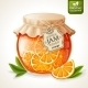 Orange Jam Jar - GraphicRiver Item for Sale