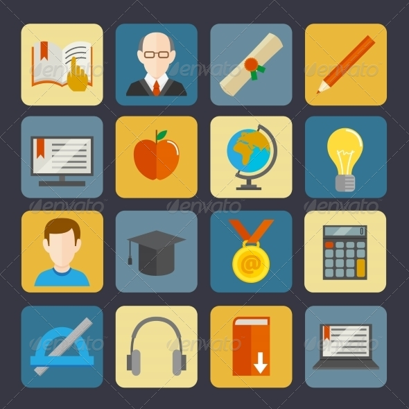 GraphicRiver E-Learning Buttons Set 7799548