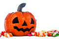 Halloween pumpkin with candies - PhotoDune Item for Sale