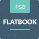 FlatBook - Flat Ebook & App Selling Psd Template - ThemeForest Item for Sale