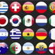 Brasil Football Cup 2014 Team Flags - GraphicRiver Item for Sale