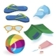 Beach Items - GraphicRiver Item for Sale