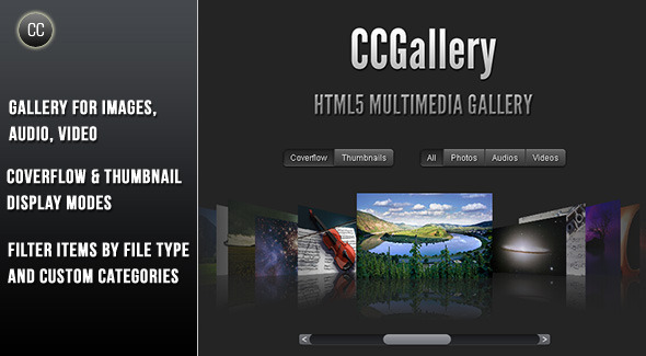 html5 image gallery template. CCGallery is a HTML5 multimedia gallery. It is very simple to use and can be