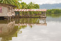 Houses on the water in Almirante, Panama - PhotoDune Item for Sale