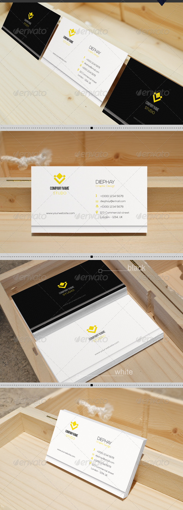 GraphicRiver Business Card 7804193