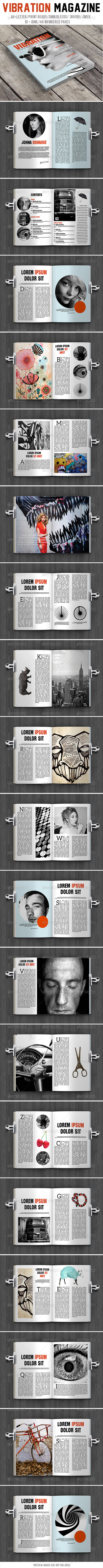 GraphicRiver Vibration Magazine 7805005
