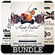Music Festival - Flyers Bundle - GraphicRiver Item for Sale