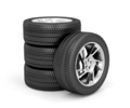 Set of car wheels - PhotoDune Item for Sale
