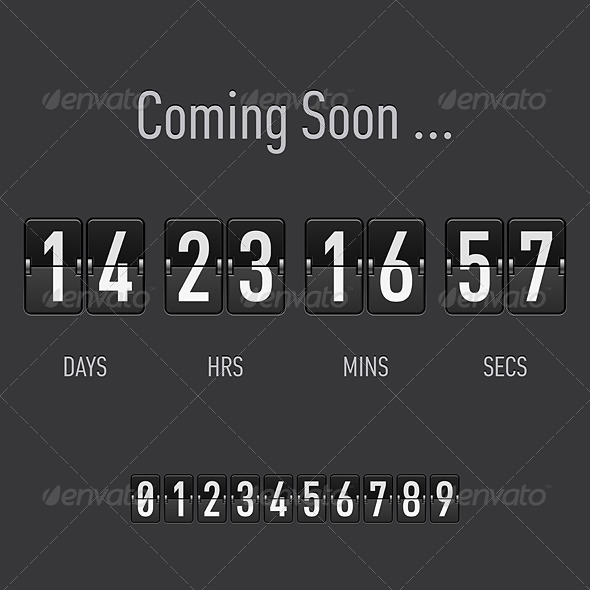 GraphicRiver Coming Soon Countdown 7805909