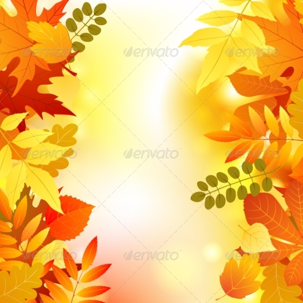 GraphicRiver Autumn Background 7806034