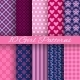 Bright Girl Seamless Patterns - GraphicRiver Item for Sale