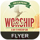 Worship Date | Flyer Template - GraphicRiver Item for Sale