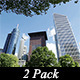 Skyscrapers and Nature  - VideoHive Item for Sale