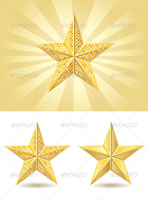 GraphicRiver Golden Star 7808862