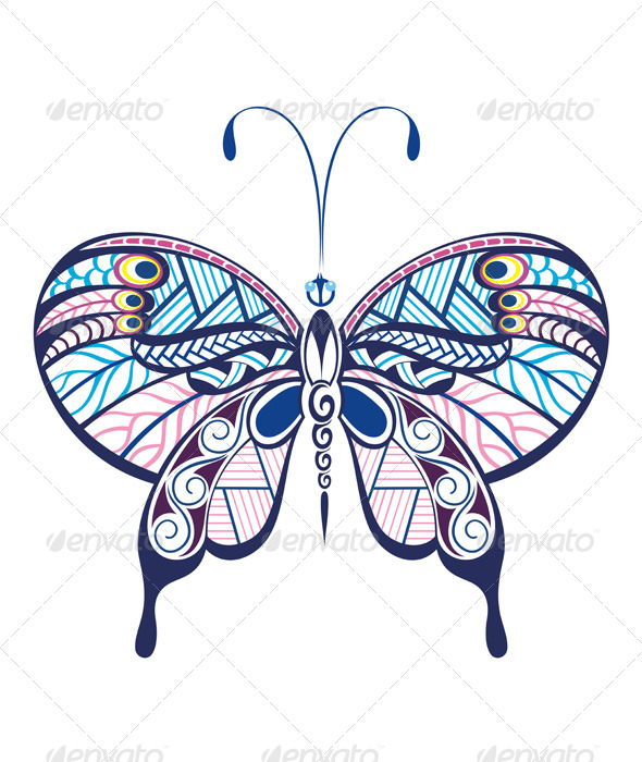 GraphicRiver Butterfly 7809243