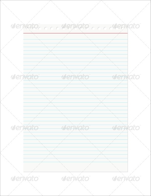 GraphicRiver Retro Notebook Sheet 7809247