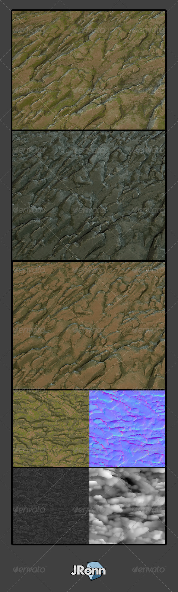 3DOcean Rock Ground Wall 01 7810070