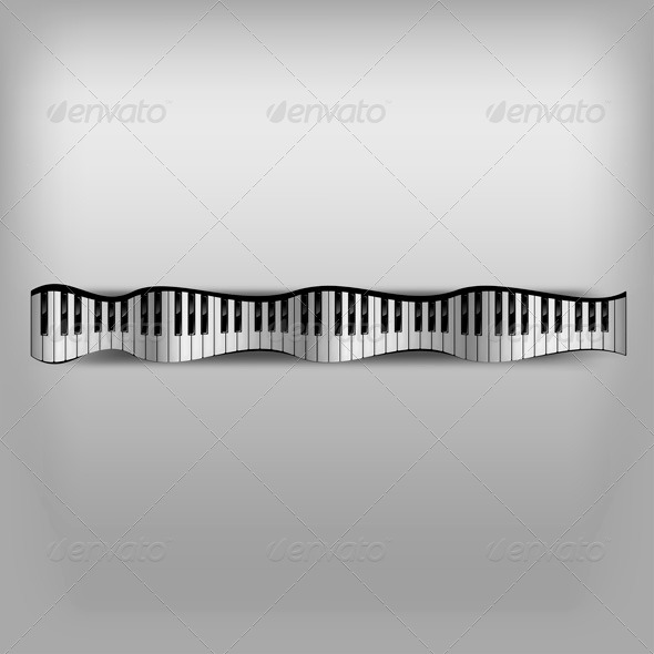 GraphicRiver Wave Piano 7811770