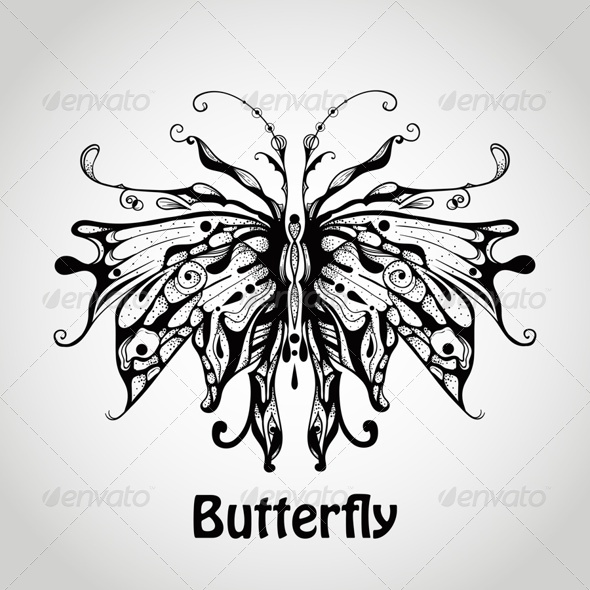 GraphicRiver Graphic Butterfly 7811772