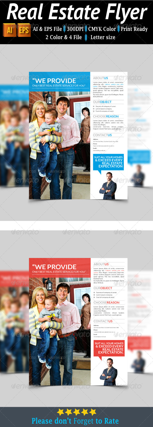 GraphicRiver Real Estate Flyer 7811841