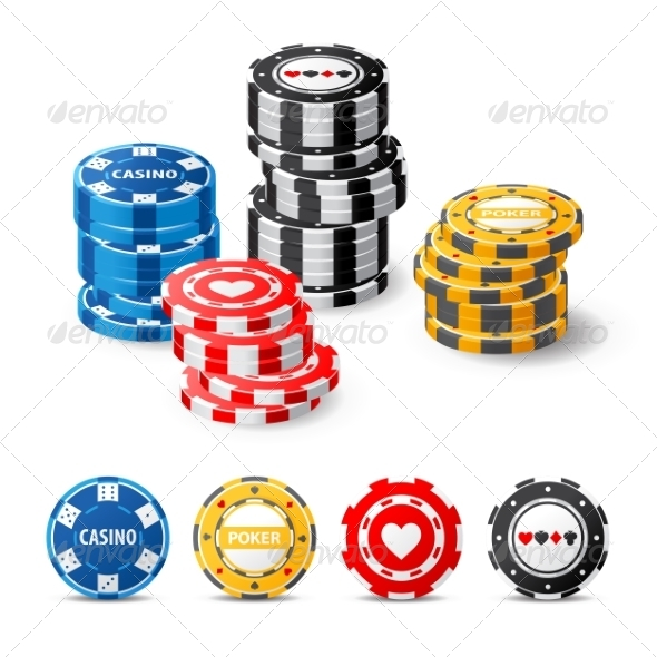 GraphicRiver Gambling Chips 7812189