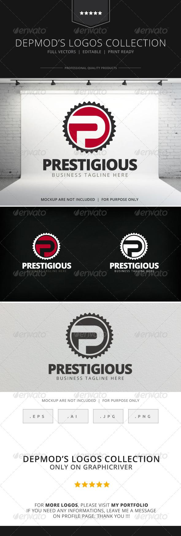 GraphicRiver Prestigious Logo 7812304