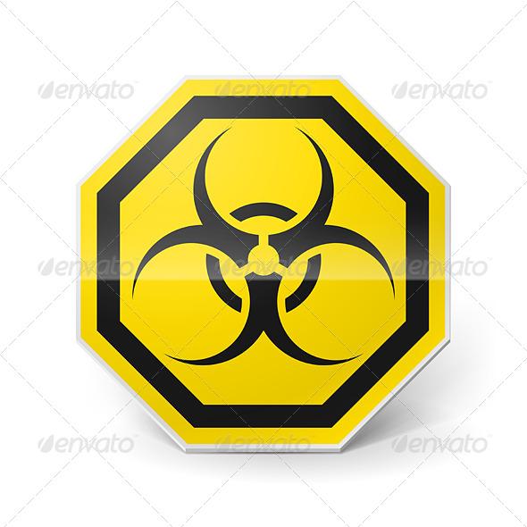 GraphicRiver Biohazard Sign 7812711