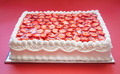 Birthday Strawberry Cake - PhotoDune Item for Sale