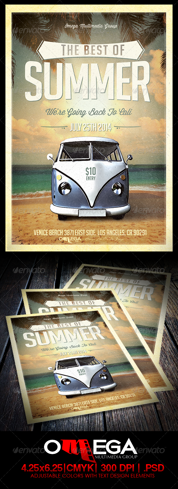 GraphicRiver The Best of Summer 7813669