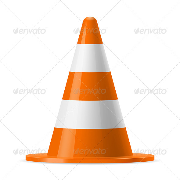 GraphicRiver Traffic Cone 7813719