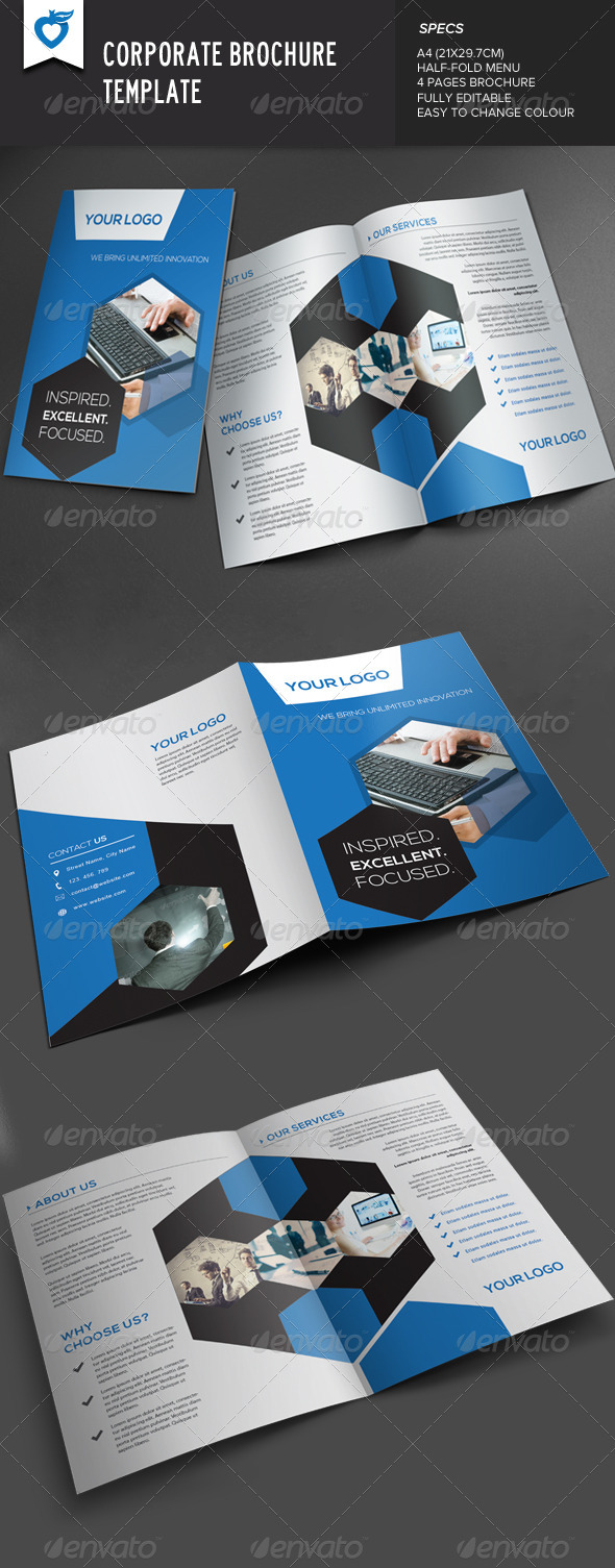 GraphicRiver Corporate Brochure v2 7813936