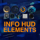 Info Hud Elements - VideoHive Item for Sale