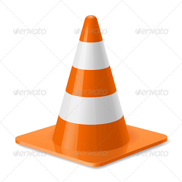 GraphicRiver Traffic Cone 7815095