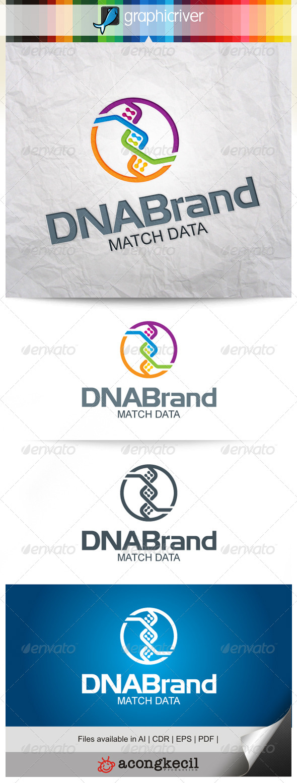 GraphicRiver DNA Brand 7815994