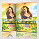 Summer Party Flyer 02 - GraphicRiver Item for Sale