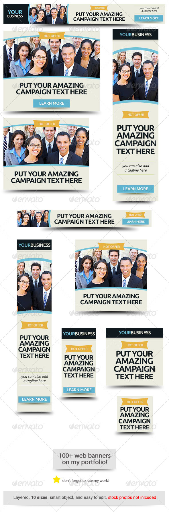 GraphicRiver Corporate Web Banner Design Template 37 7817761