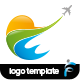 Summer Travel Logo - GraphicRiver Item for Sale