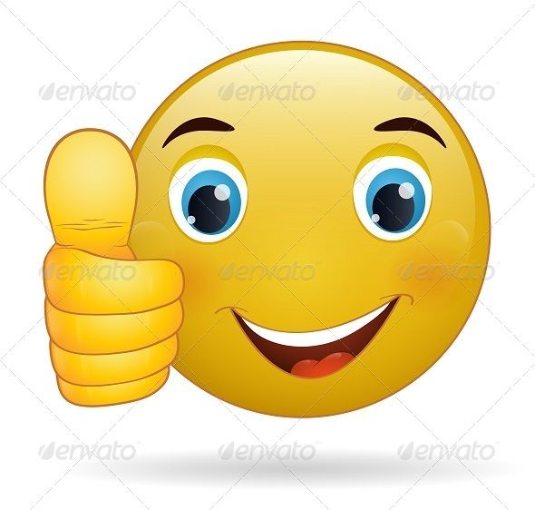 GraphicRiver Thumbs Up Emoticon 7822385