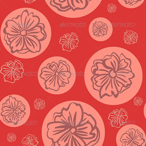GraphicRiver Seamless Flower Pattern 7395619