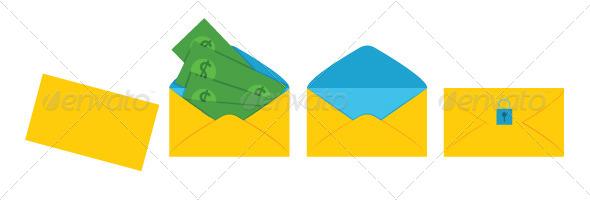 GraphicRiver Envelope with Money 7823329